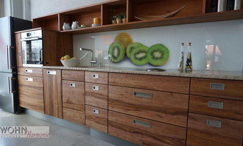 Wohnharmonie I Küche Apfelbaum
