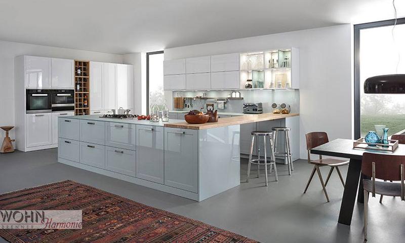 Wohnharmonie I Küche Weiß
