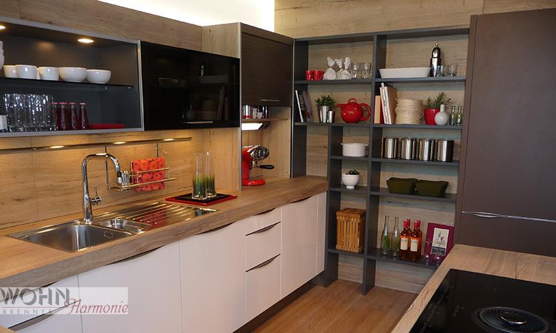 Wohnharmonie I  Küche offen geplant