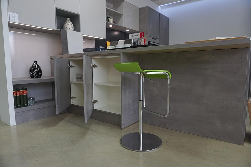 Wohnharmonie I Küche in Betonoptik