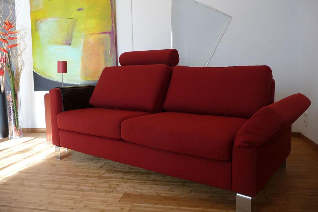 Wohnharmonie I Sofa rot