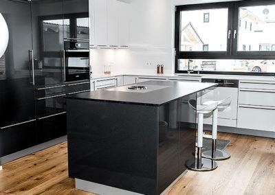 Glänzende Küche in Murnau