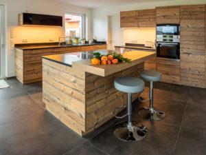 Schreinerei-Altholzküche